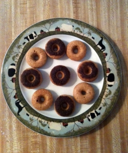 plate full of donuts