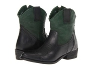 black and green boot